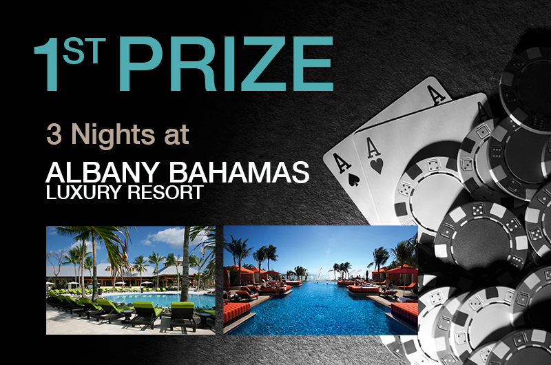 Milana Luxury Resort Poker Prize